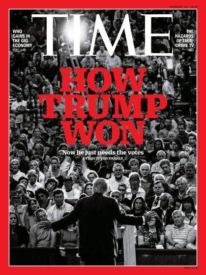 صفحات الغلاف لمجلة ال #Time الأمريكية والتي ظهر عليها الرئيس الأمريكي #ترامب #مشاهير - صورة ٨
