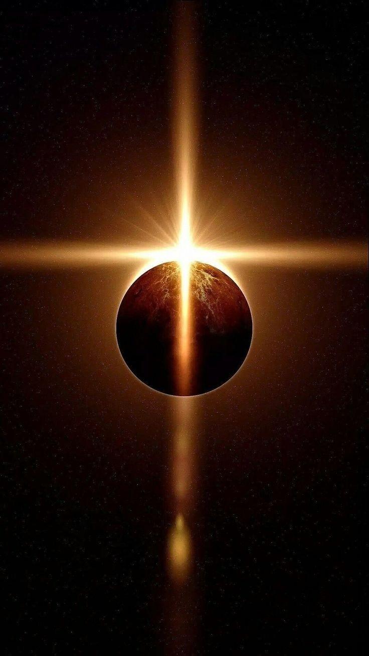 صورة لكسوف كلي من الفضاء