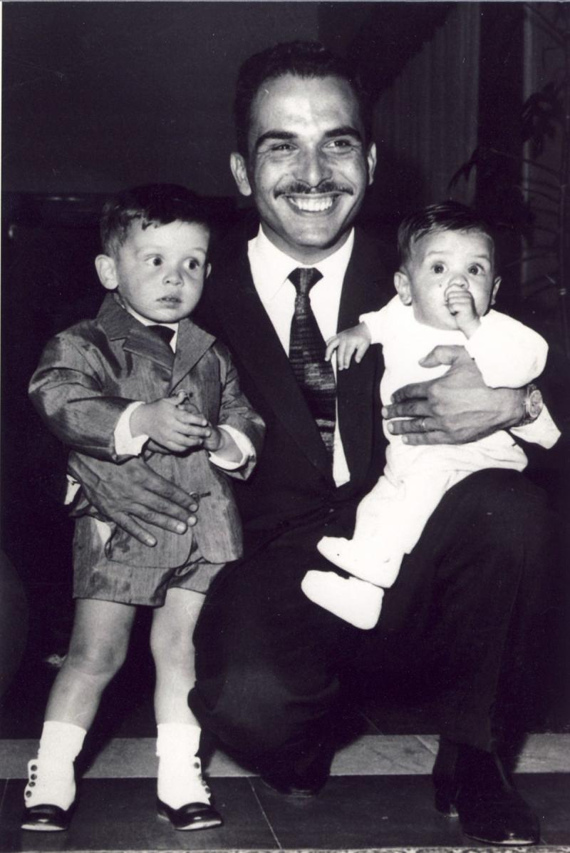 صور نادرة لجلالة #الملك_عبدالله الثاني ملك #الأردن في ذكرى ميلاده - صورة ٢٢