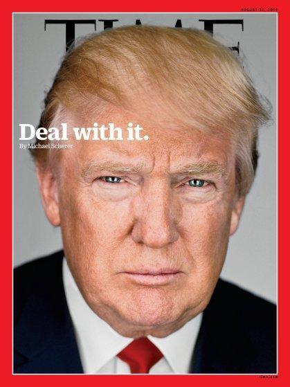 صفحات الغلاف لمجلة ال #Time الأمريكية والتي ظهر عليها الرئيس الأمريكي #ترامب #مشاهير - صورة ٧