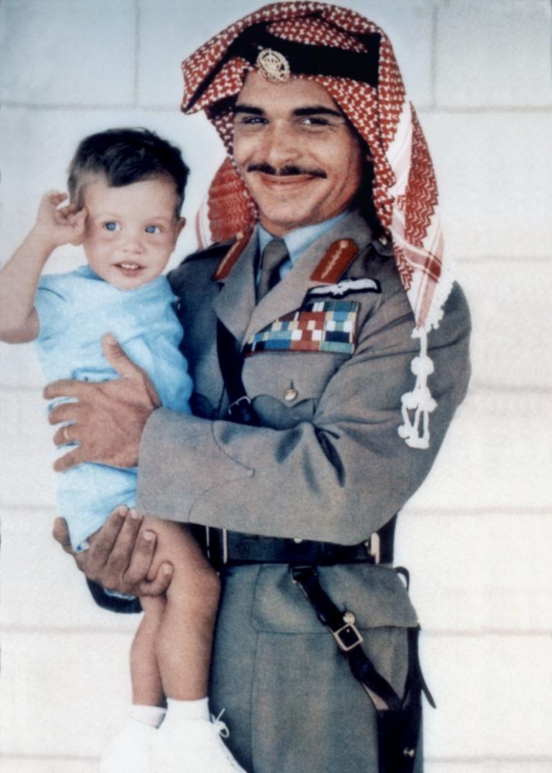 صور نادرة لجلالة #الملك_عبدالله الثاني ملك #الأردن في ذكرى ميلاده - صورة ٢٣
