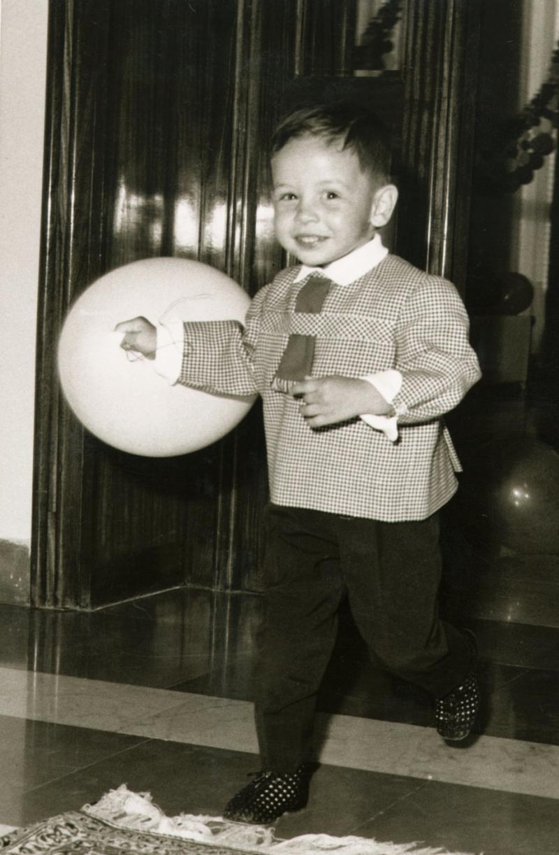 صور نادرة لجلالة #الملك_عبدالله الثاني ملك #الأردن في ذكرى ميلاده - صورة ٧