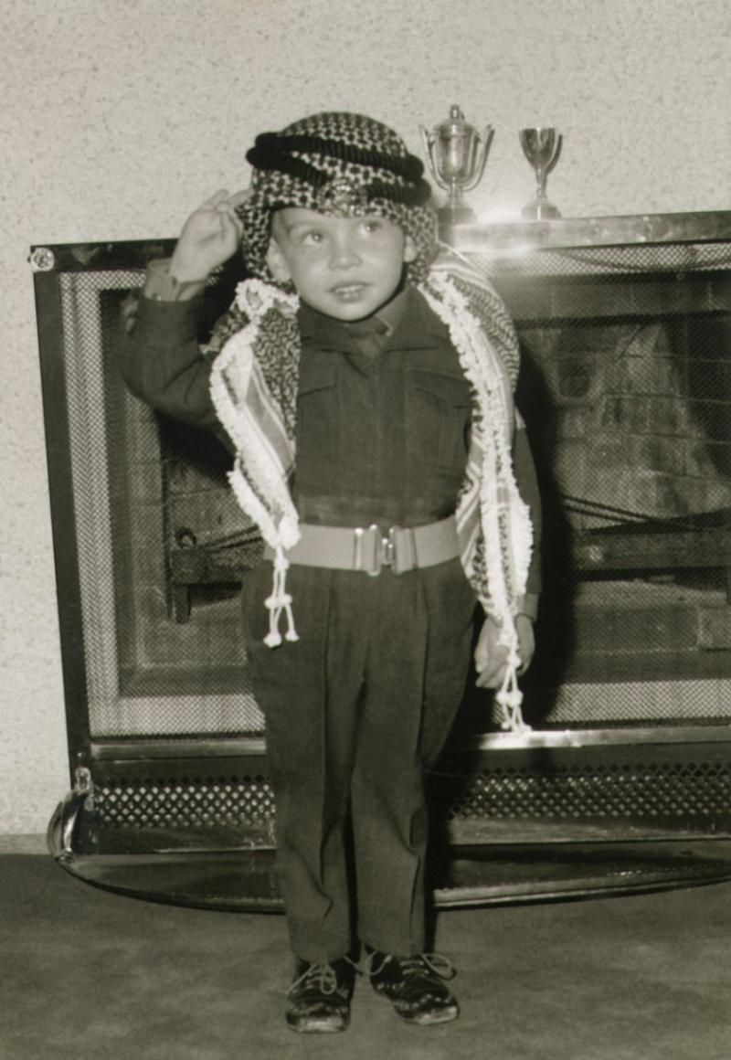 صور نادرة لجلالة #الملك_عبدالله الثاني ملك #الأردن في ذكرى ميلاده - صورة ٨