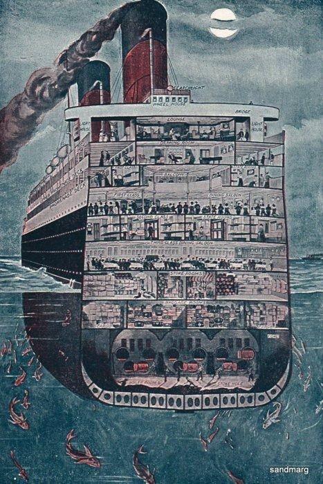صور نادرة ومنوعة لسفينة #التايتانك #Titanic الشهيرة - صورة ٧