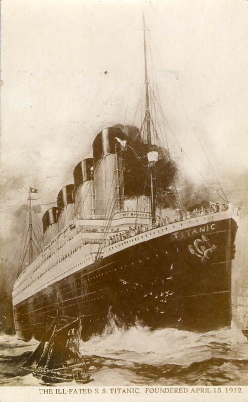 صور نادرة ومنوعة لسفينة #التايتانك #Titanic الشهيرة - صورة ١