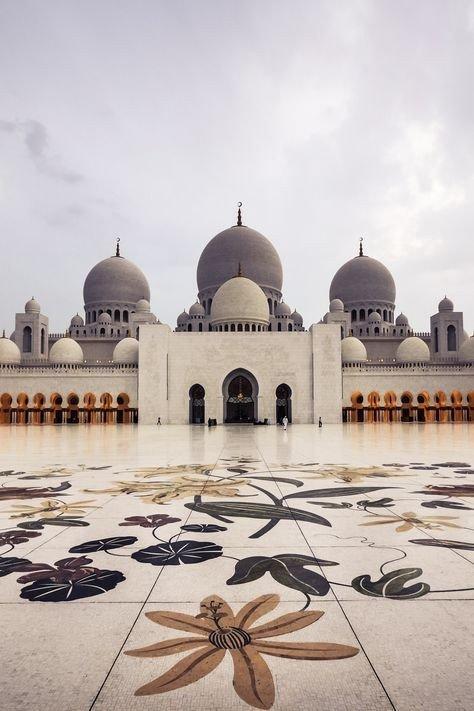 صور منوعة لمسجد #الشيخ_زايد الكبير في #أبوظبي - صورة ١٠