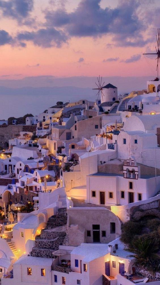 صور من جزيرة #ميكونوس في #اليونان - صورة ١