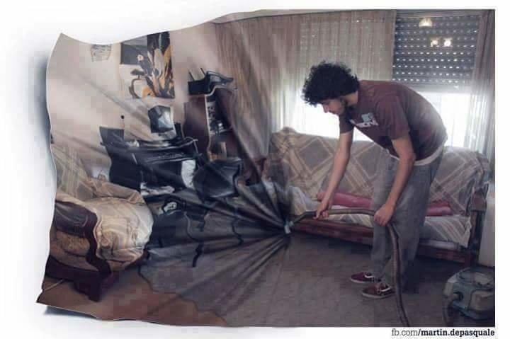 فنان يبدع باستخدام #الفوتوشوب بتصوير نفسه وتعديل الصور - صورة 2