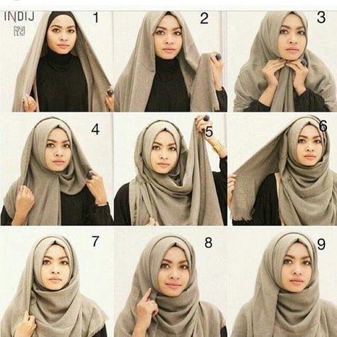 لفات #حجاب بالخطوات - صورة 6