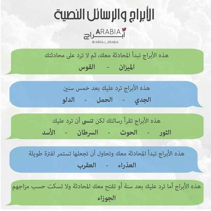 كيف يتعامل مولود كل #برج مع الرسائل النصية لجميع #الأبراج #الجوزاء #الحمل #الميزان #الثور #العقرب #الحوت #الأسد #القوس #الدلو #العذراء #السرطان #الجدي