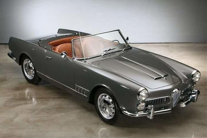 سيارة Alfa romeo spider 1960 model #سيارات