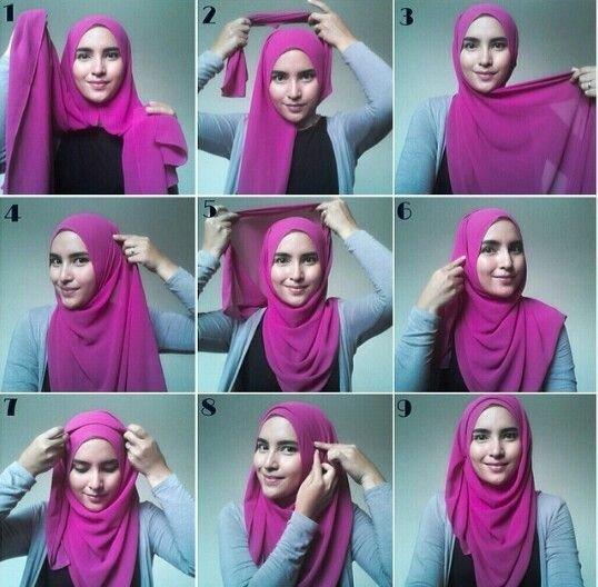 لفات #حجاب بالخطوات - صورة 4