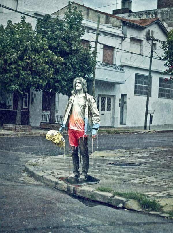 فنان يبدع باستخدام #الفوتوشوب بتصوير نفسه وتعديل الصور - صورة 11