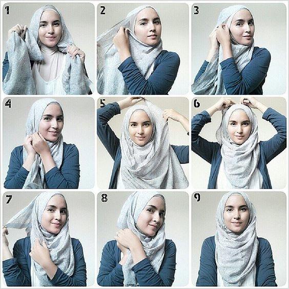 لفات #حجاب بالخطوات - صورة 5