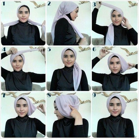 لفات #حجاب بالخطوات - صورة 3