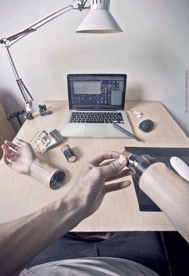 فنان يبدع باستخدام #الفوتوشوب بتصوير نفسه وتعديل الصور - صورة 4