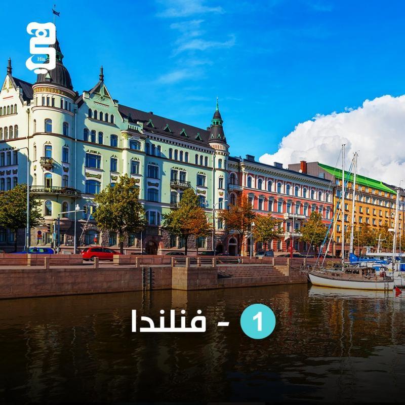 أسعد ١٠ بلدان في العالم - المركز الأول #فنلندا