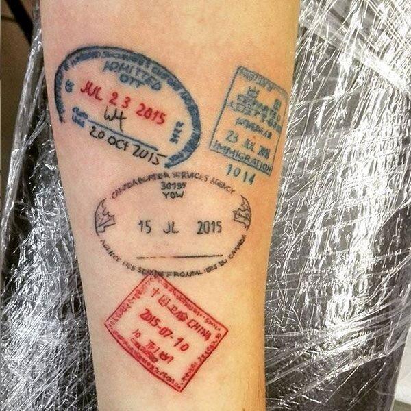 #وشم دقيق ومميز #Tattoo - صورة ١٣