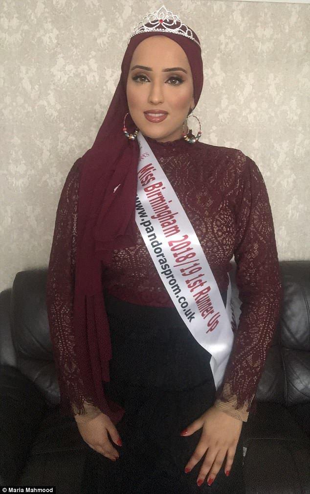 ديلى ميل: ماريا محمود أول محجبة تتأهل للدور نصف النهائى بمسابقة #ملكة_جمال #انجلترا - صورة ٢