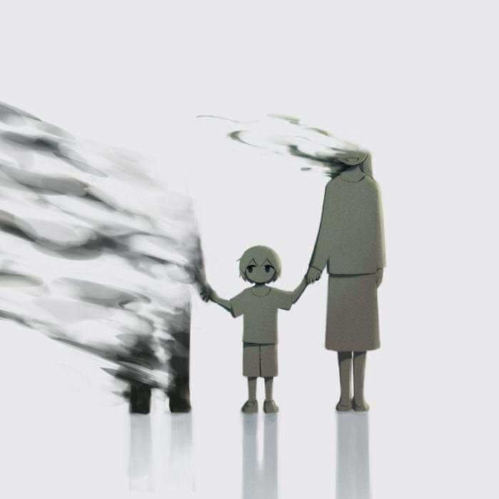 #لوحات عميقة المعنى لفنان ياباني يحمل اسم @avogado6 على #تويتر #فن - صورة ١٦