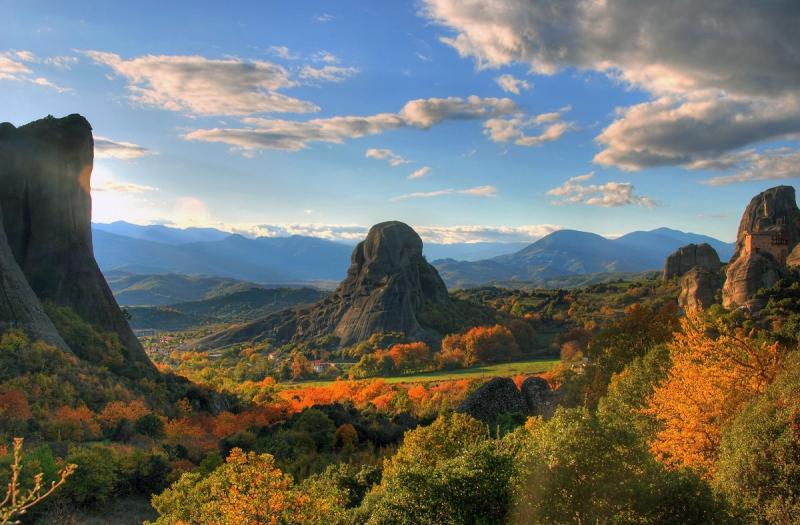 مدينة #Meteora الجبلية في #اليونان - صورة ١٥