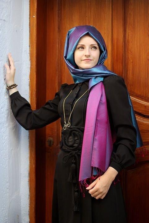 صور #بنات بأنواع مختلفة للفات #الحجاب - صورة ٢