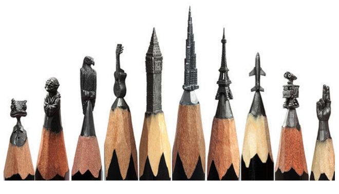 أعمال فنية متناهية الصغر والدقة #فن - صورة ١٧
