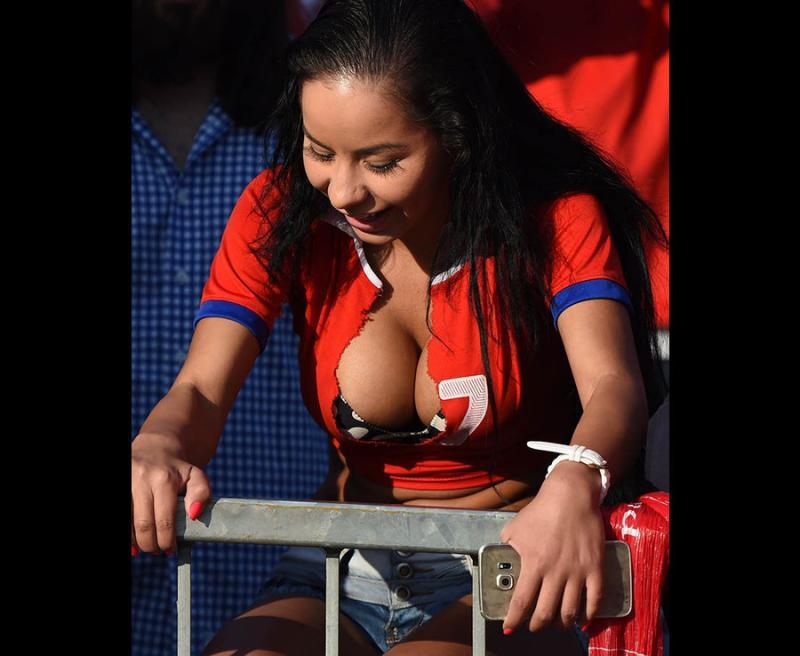 #مشجعات #البيرو في #كأس_العالم #روسيا ٢٠١٨ - صورة ١