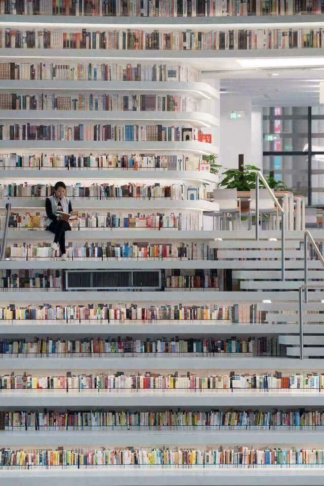 افتتاح المكتبة العامة في #الصين وتحوي ١،٢ مليون كتاب - صورة ٤