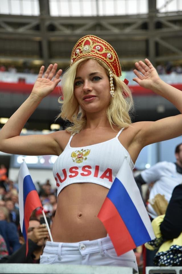 #مشجعات #روسيا في #كأس_العالم #روسيا ٢٠١٨ - صورة ٥