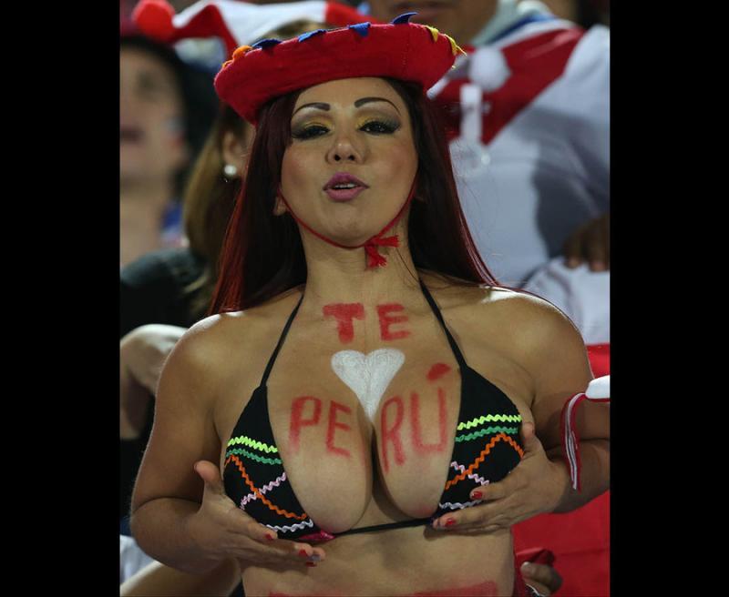 #مشجعات #البيرو في #كأس_العالم #روسيا ٢٠١٨ - صورة ٢