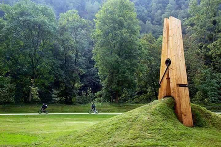 #تماثيل بتصاميم مذهلة وبعضها يتحدى الجاذبية - صورة ٤