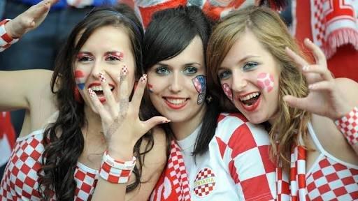 #مشجعات #كرواتيا في #كأس_العالم #روسيا ٢٠١٨ - صورة ٢