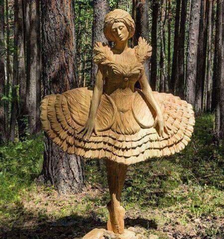 #منحوتات دقيقة جدا في #الخشب #فن - صورة ٢