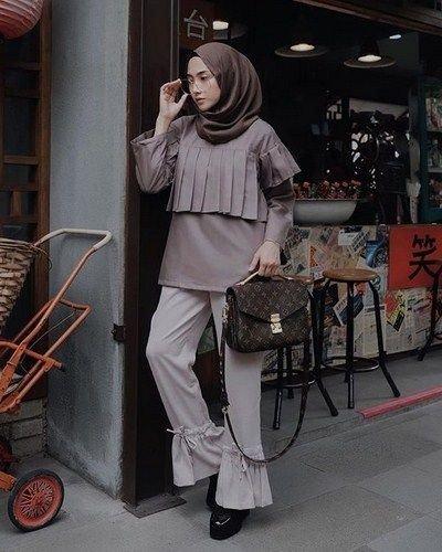 ستايلات #حجاب وملابس #محجبات #بنات - صورة ٦
