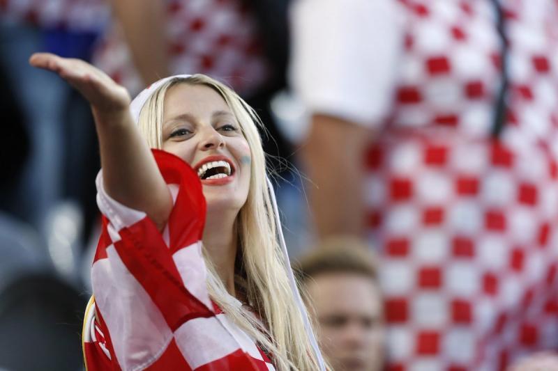 #مشجعات #كرواتيا في #كأس_العالم #روسيا ٢٠١٨ - صورة ٤