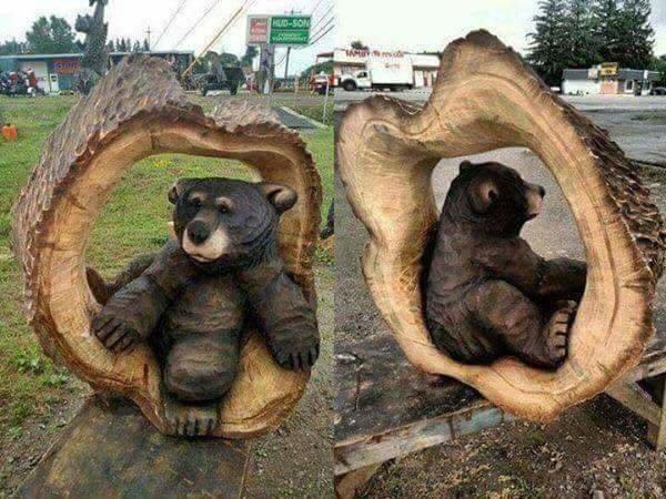 #منحوتات دقيقة جدا في #الخشب #فن - صورة ٥