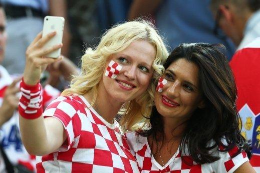 #مشجعات #كرواتيا في #كأس_العالم #روسيا ٢٠١٨ - صورة ٣