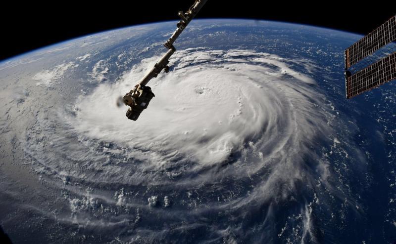 وكالة الفضاء الأميركية #ناسا تظهر حجم إعصار #فلورنس - صورة ٦
