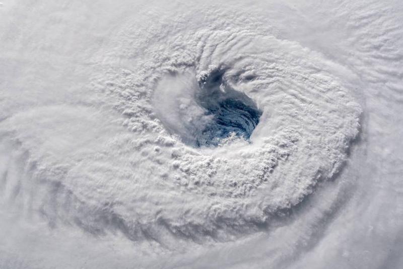 وكالة الفضاء الأميركية #ناسا تظهر حجم إعصار #فلورنس - صورة ٢