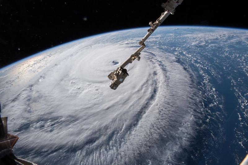 وكالة الفضاء الأميركية #ناسا تظهر حجم إعصار #فلورنس - صورة ٧