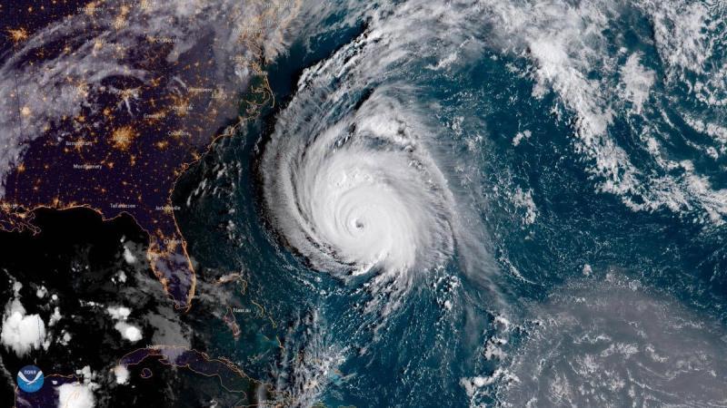 وكالة الفضاء الأميركية #ناسا تظهر حجم إعصار #فلورنس - صورة ٥