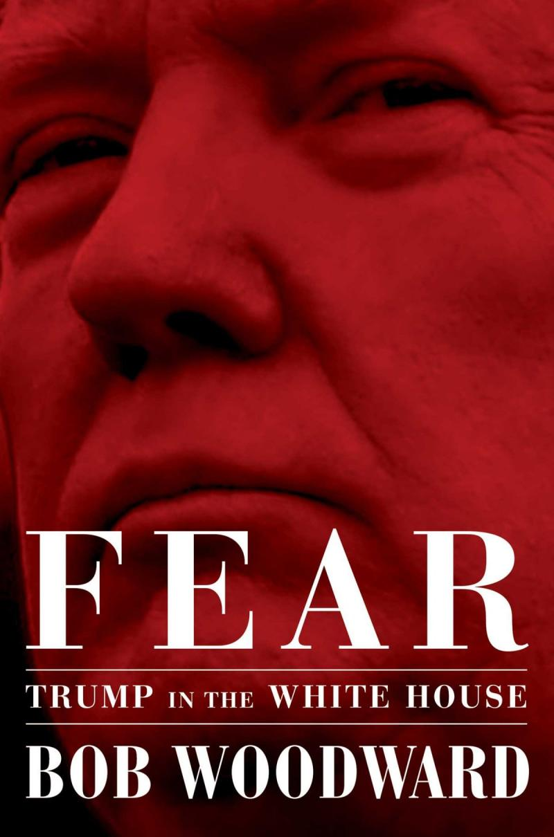 bob woodward book #Fear cover