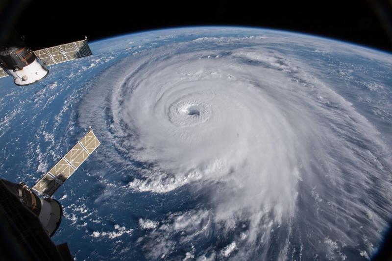 وكالة الفضاء الأميركية #ناسا تظهر حجم إعصار #فلورنس - صورة ٤