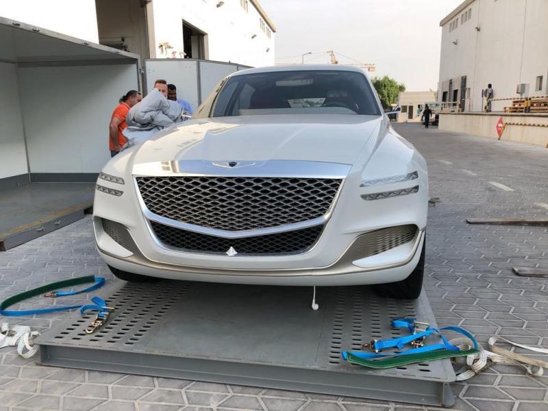 شركة #هيونداي تطلق سيارتها #جينيسس الفارهة بالدفع الرباعي #سيارات ٢٠١٩ - صورة ٢