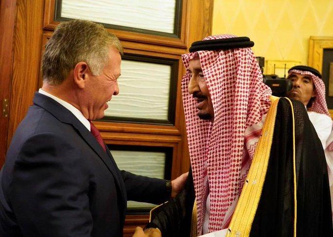 جلالة الملك #عبدالله_الثاني مع #خادم_الحرمين الملك #سلمان في مؤتمر الاستثمار السعودي #الأردن #السعودية - صورة ٣
