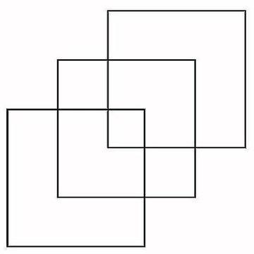 كم مربع في الشكل #لغز