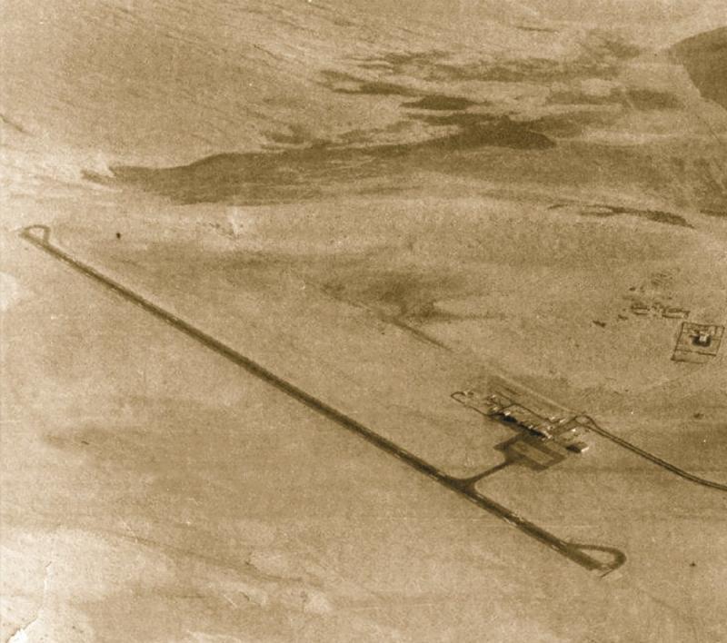 مطار #دبي عام ١٩٦٠ #تاريخ