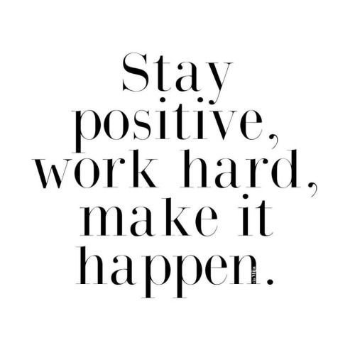 Stay #Positive
