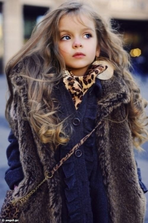 صور #بنات #أطفال جميلة بعيون ملونة #فيسبوك - صورة ١